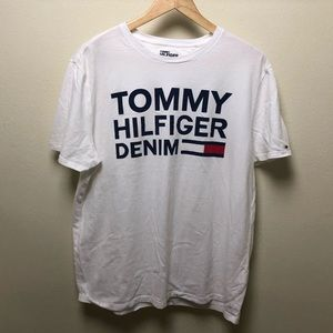 Tommy Hilfiger denim graphic tee